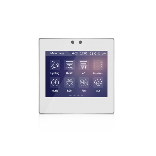 "Panou de control KNX touch 3.5""- argintiu"