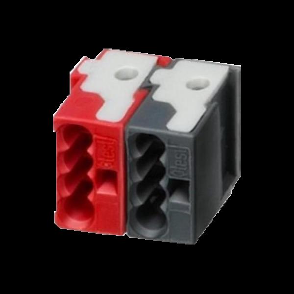 Conector WAGO KNX negru/ rosu