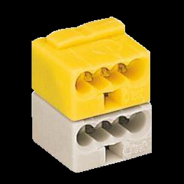 Conector WAGO KNX galben/ alb