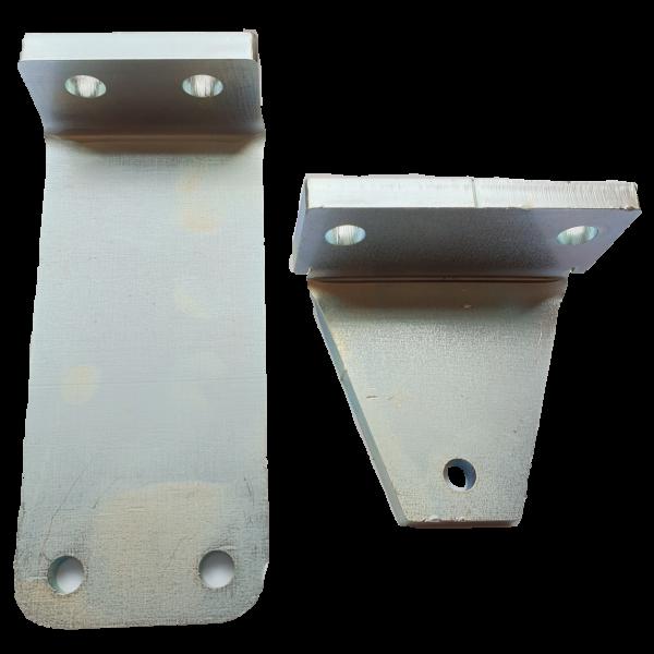 Set suporturi din metal pentru fixare 1 motor Rotello