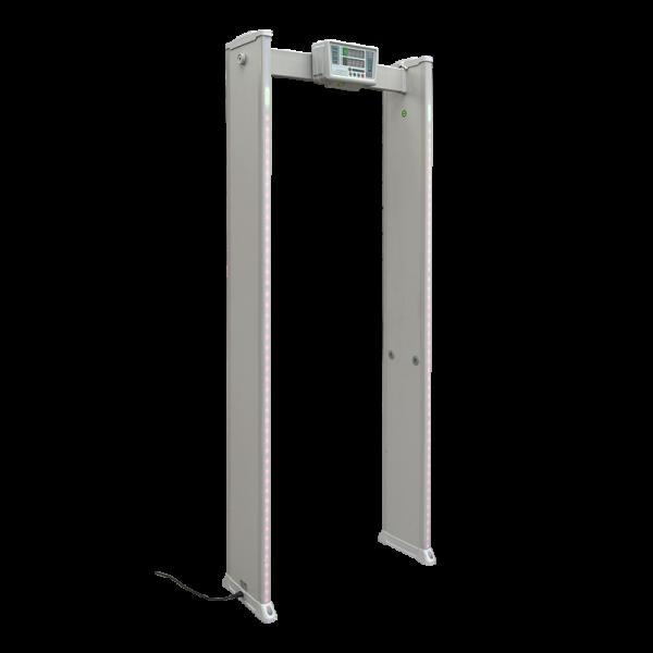 Poarta detectie metale cu o zona si afisaj LED