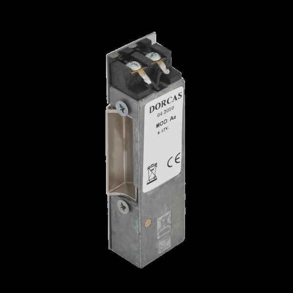 Yala electromagnetica incastrabila acoperita, reversibila, memorie mecanica - NO - 12Vcc/ca
