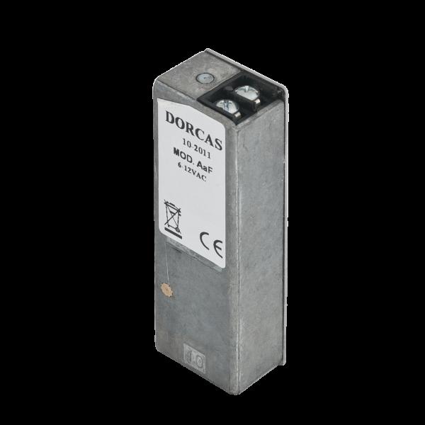 Yala electromagnetica incastrabila, 12Vcc/1.2A, fail-secure, memorie mecanica