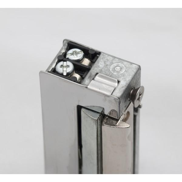 Incuietoare electromagnetica ajustabila, reversibila, cu memorie mecanica - 12Vcc/ca - NO