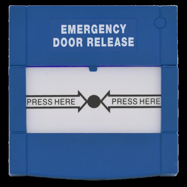 Buton aplicabil din plastic, pentru iesire de urgenta