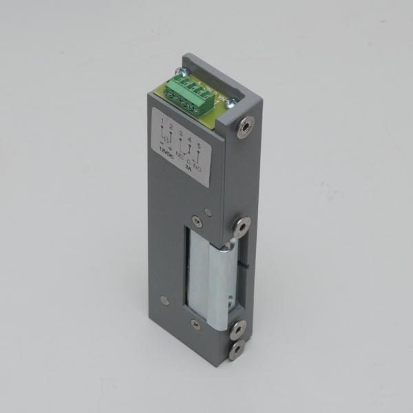 Yala electromagnetica incastrabila, pentru usi de urgenta ajustabila, nereversibila - NC - 12Vcc