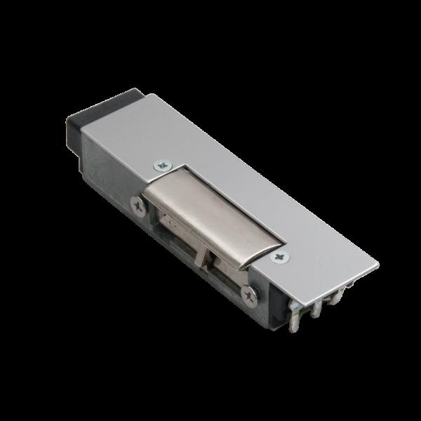 Yala electromagnetica incastrata, 12Vcc/170mA, cu senzor NO/NC - fail-safe