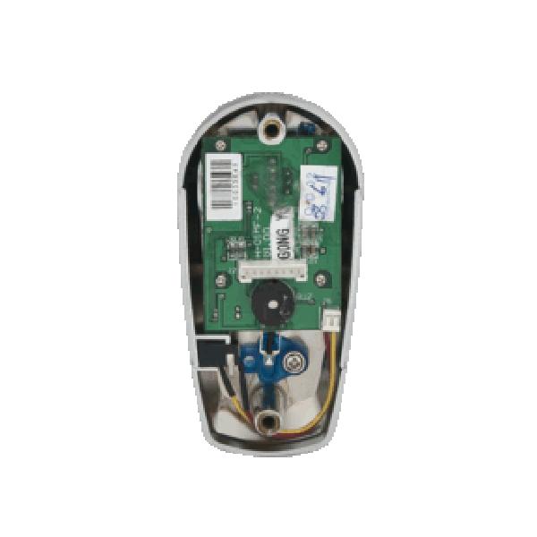 Incuietoare RFID pentru vestiare (dulapuri) cu tag de proximitate tip bratara, nichel