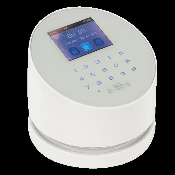 Kit alarma wireless, comunicatie GSM, WIFI, PSTN, 99 zone