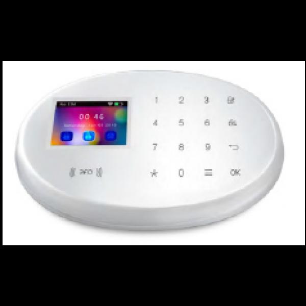 Kit alarma wireless, comunicatie GSM, WIFI, RFID EM 125 kHz