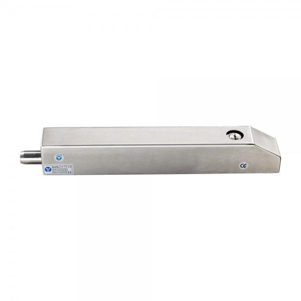 Bolt electric cu actionare electromagnetica, de exterior, monitorizare si cilindru cu cheie