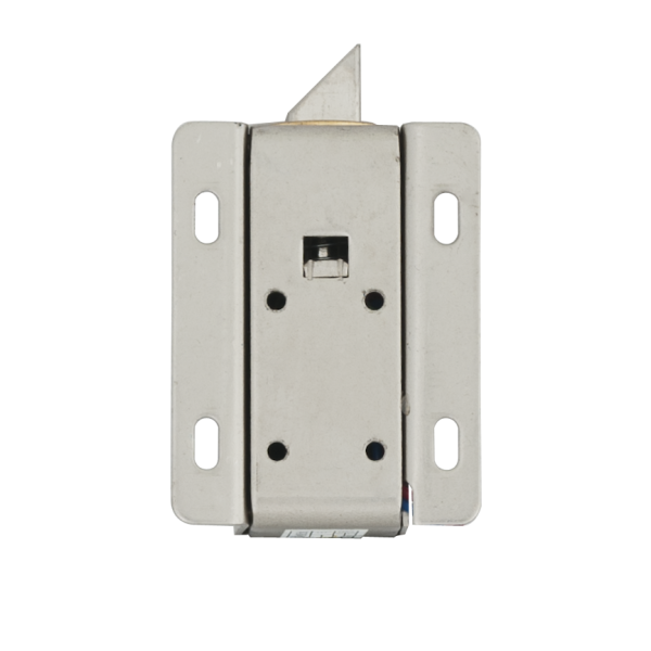 Incuietoare electromecanica cu limba, pentru usi de vestiare