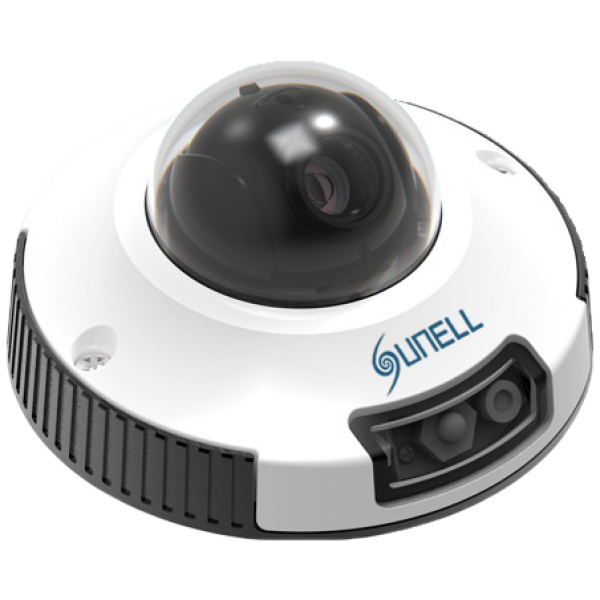 Camera de supraveghere IP Dome, 2MP, IR 6m, 3.6mm, Sunell SN-IPV54/14ZDR