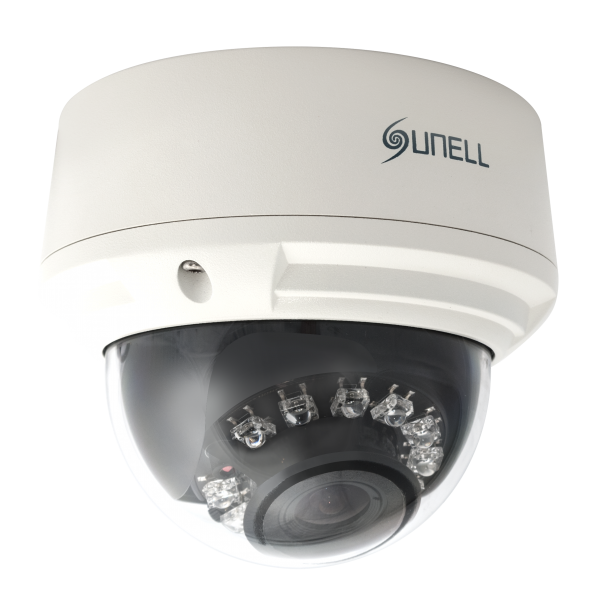 Camera de supraveghere IP Dome, 3MP, IR 15m, 3.3-12mm, Sunell SN-IPD54/31XDR