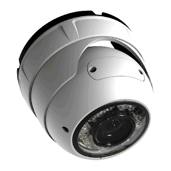 Camera de supraveghere IP Turret, 2MP, IR 30m, 3.3-12mm, Sunell SN-IPR54/14ALDN