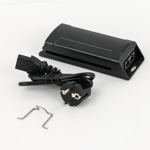 Injector POE, 802.3af/at, 30W, 10/100/1000Mbps