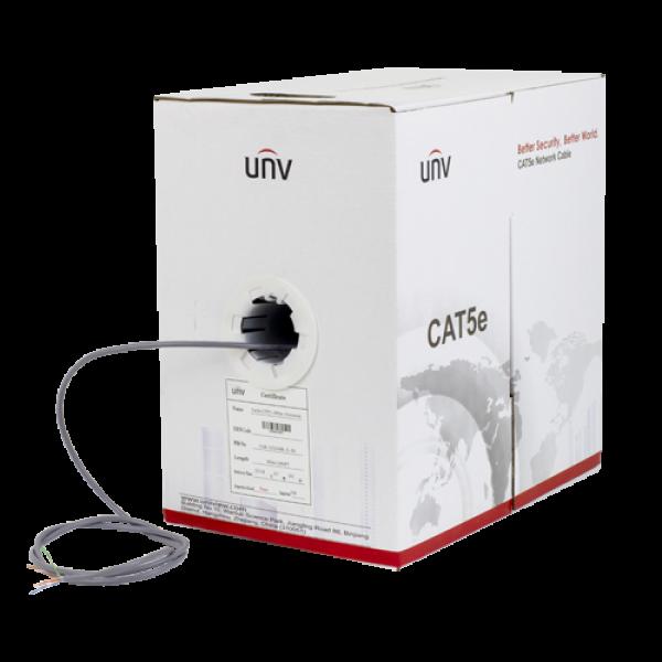 Cablu UTP cat.5e, OFC, 0.50 mm cupru - UNV CAB-LC2100B-IN