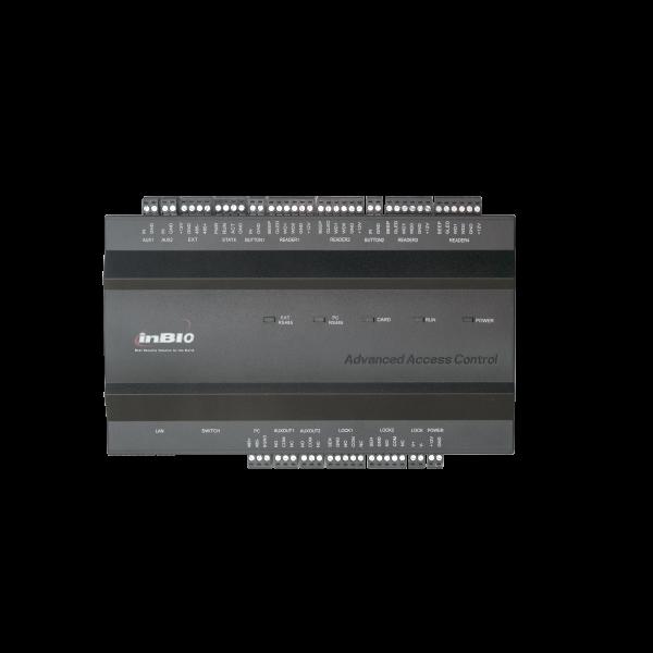 Centrala de control acces biometrica pentru 2 usi bidirectionale