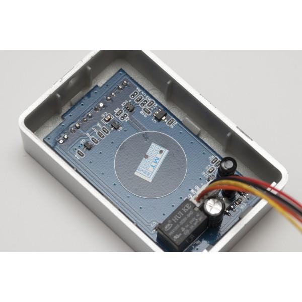 Buton de iesire aplicabil, din plastic cu touchscreen