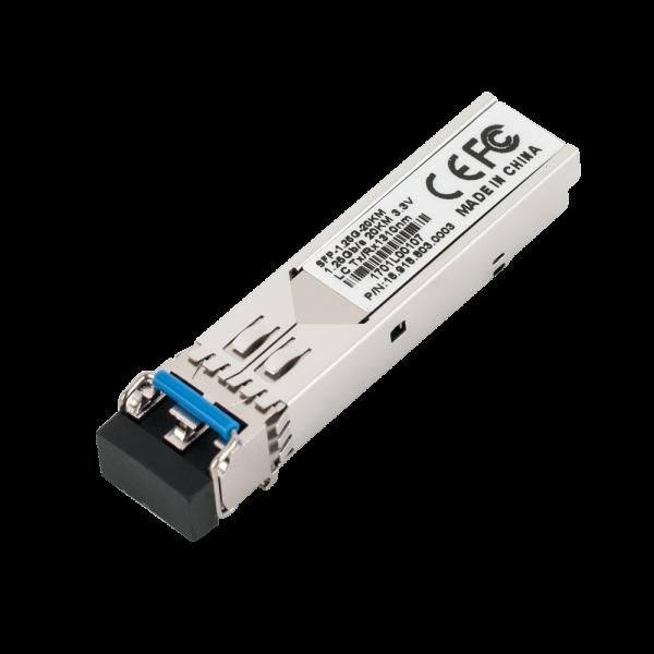 Modul SFP standard, dual-fiber, 1.25Gbps, 20km