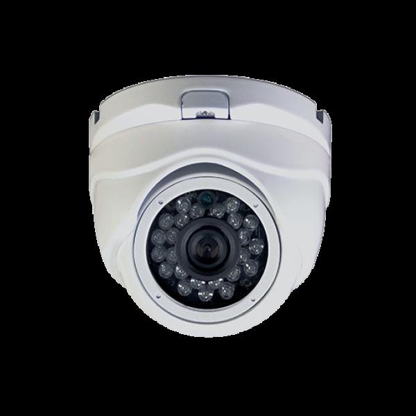 Camera dome de exterior HD-TVI, Sony 720P, lentila 3.6mm, IR20m, 12Vcc