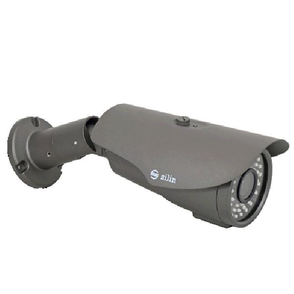 Camera de supraveghere HDTVI Bullet, 2MP, IR 60m, 2.8-8mm, 3x, Silin SCT-2460BV-AF