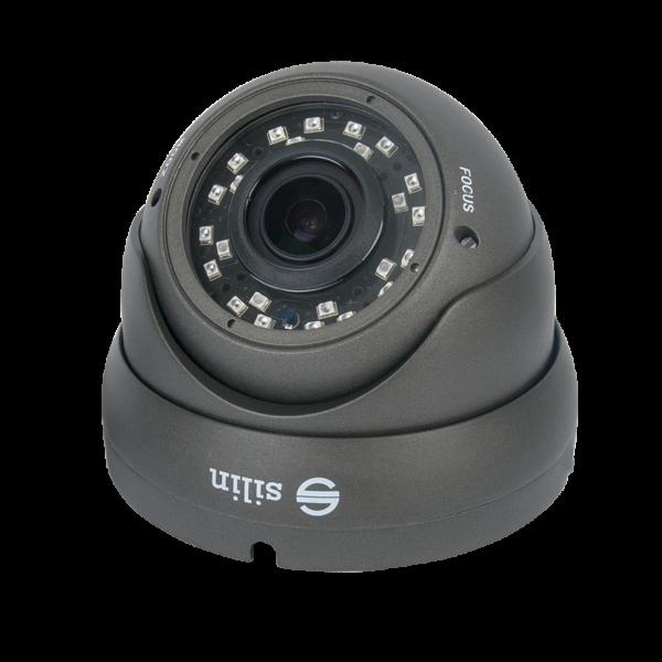 Camera de supraveghere HDTVI Turret, 2MP, IR 30m, 2.8-12mm, Silin SCT-2130SV-DV