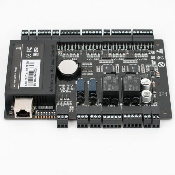 Centrala de control acces pentru 2 usi bidirectionale, software ZKBio Security