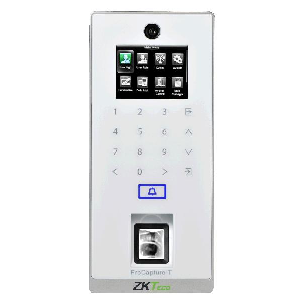 Controler stand-alone cu functie de pontaj, cu amprenta, card si tastatura, ZK Bio Security