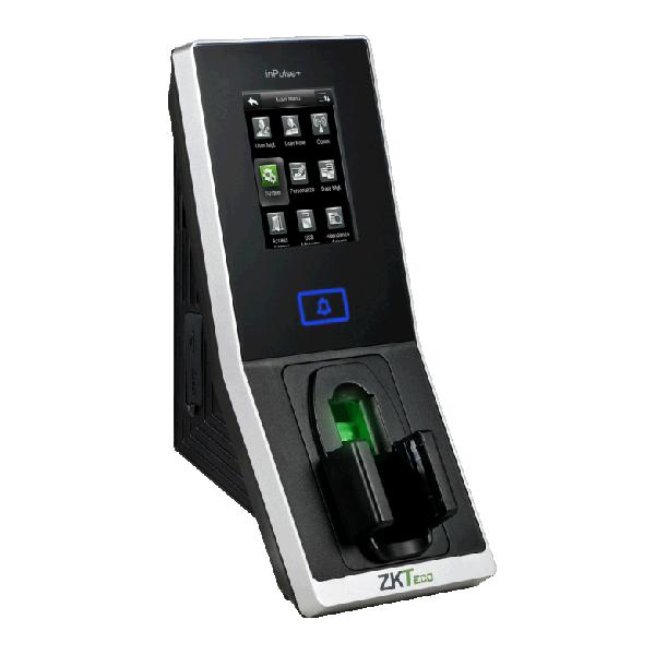 Controler de acces cu functie de pontaj, cu recunoastere vene, cititor de proximitate si cod PIN