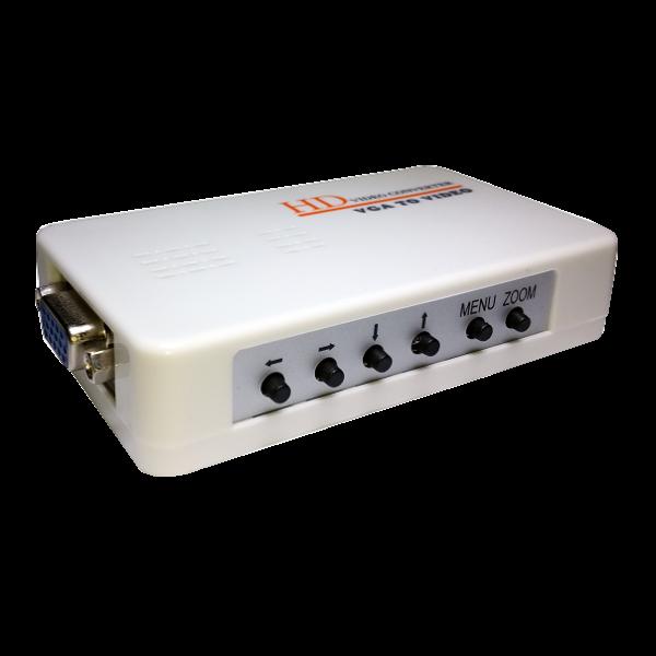 Convertor VGA la video complex si S-Video