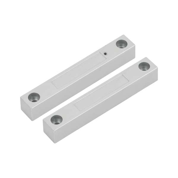 Contact magnetic cu LED aplicabil NC pentru usi de metal