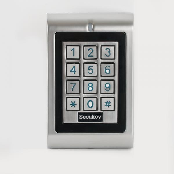 Controler stand-alone de exterior cu tastatura si card, antivandal cu 2 relee