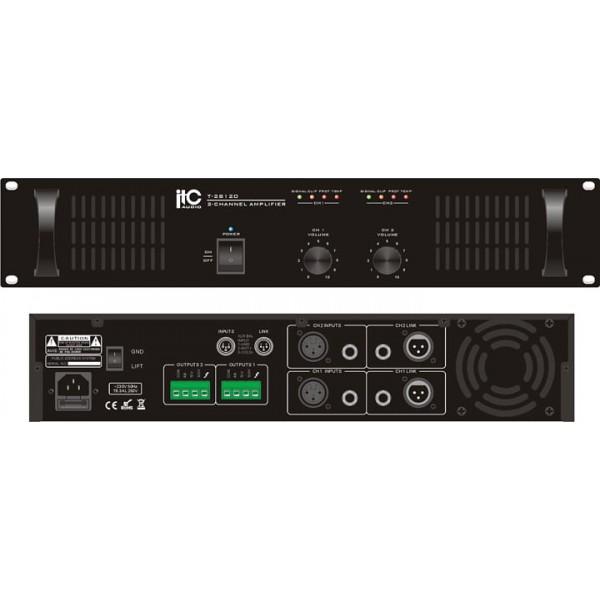 2-Channel Power Amplifier, 2×120W