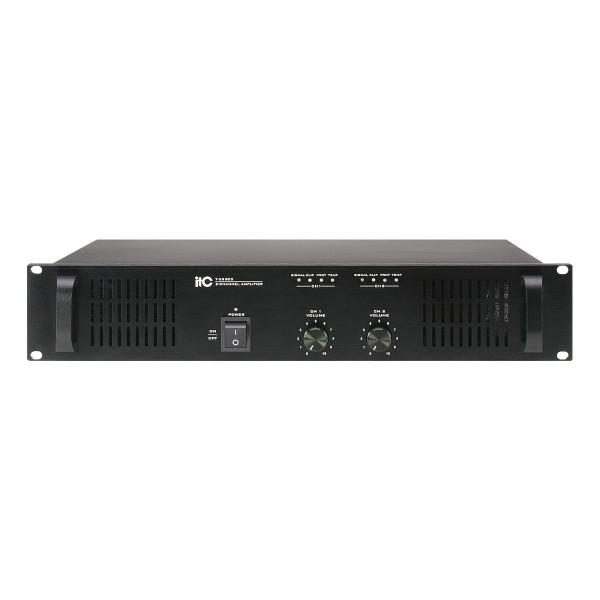 2-Channel Power Amplifier, 2×500W