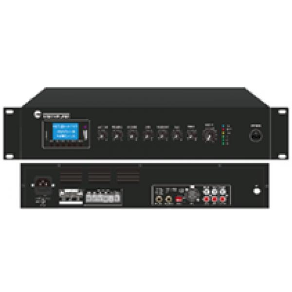 Mixer amplificator 120W RMS, radio FM 88 MHZ-108MHz, cu redare Mp3/SD/USB