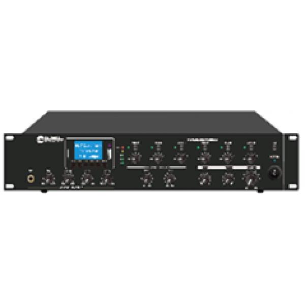 Mixer amplificator cu 6 zone (100V), reglaj volum independent pe 6 zone