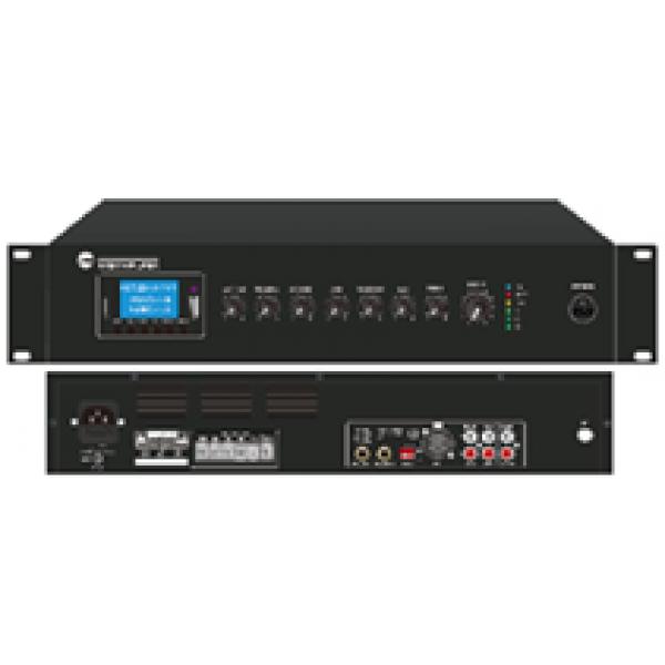 Mixer amplificator 350W RMS, radio FM 88 MHZ-108MHz, cu redare Mp3/SD/USB