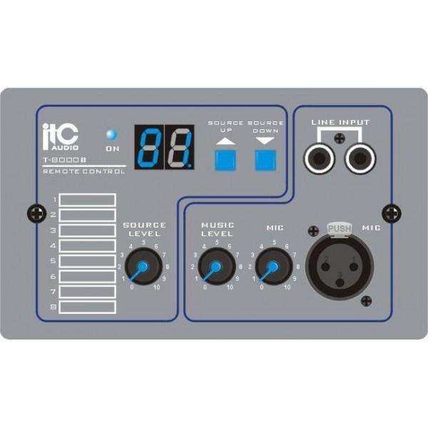 Modul de intrare tip remote microfon, 2 intrari XLR