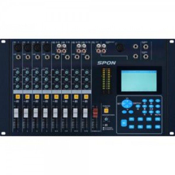 IP audio mixing console