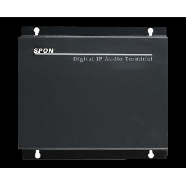 IP audio terminal/amplifier(120W constant voltage)