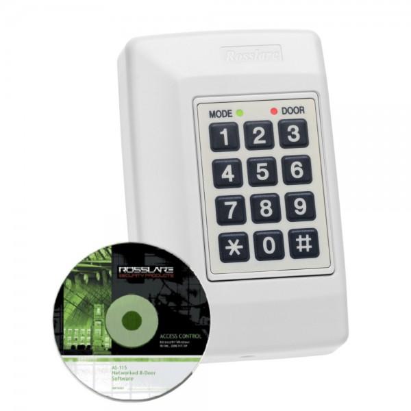 Controler acces pentru o uşă, 2 cititoare externe