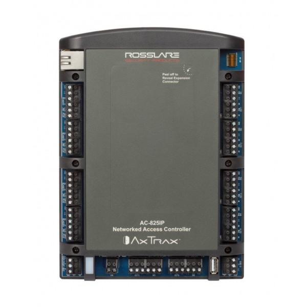 Controler acces pentru 4 uşi/unidirectional, sau 2 bidirectional , extensibil la 72 unidirectional