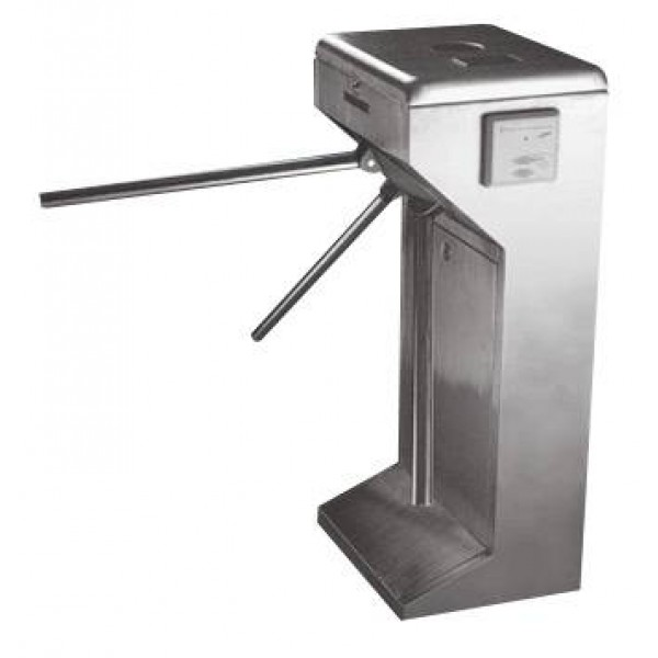 Turnichet electromecanic bidirectional, braţe inox, carcasă din INOX.
