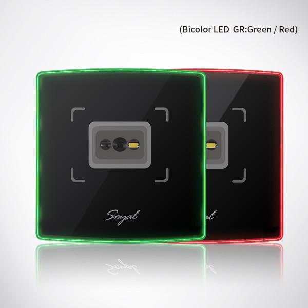 Cititor card-uri proximitate Dual Band (125 kHz si 13.56 MHz) cu QR