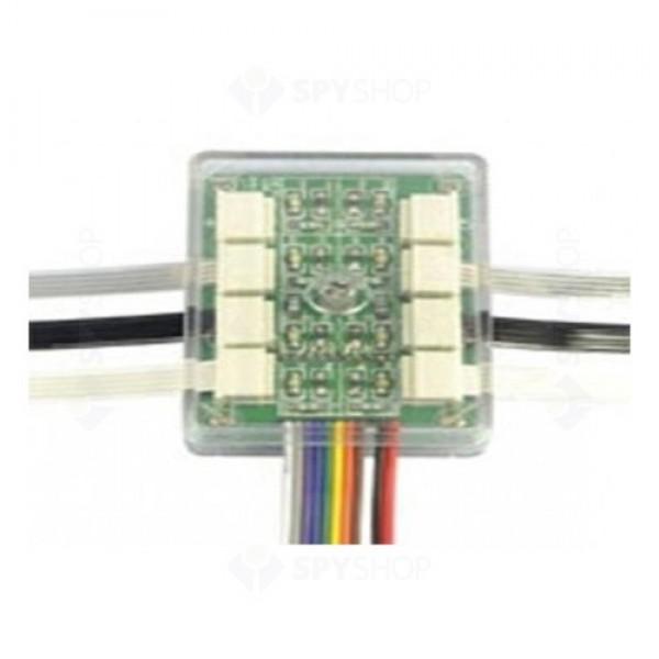 Cutie de distributie pentru cablu ZHTZ, Ppentru 8 cabluri ZA4P