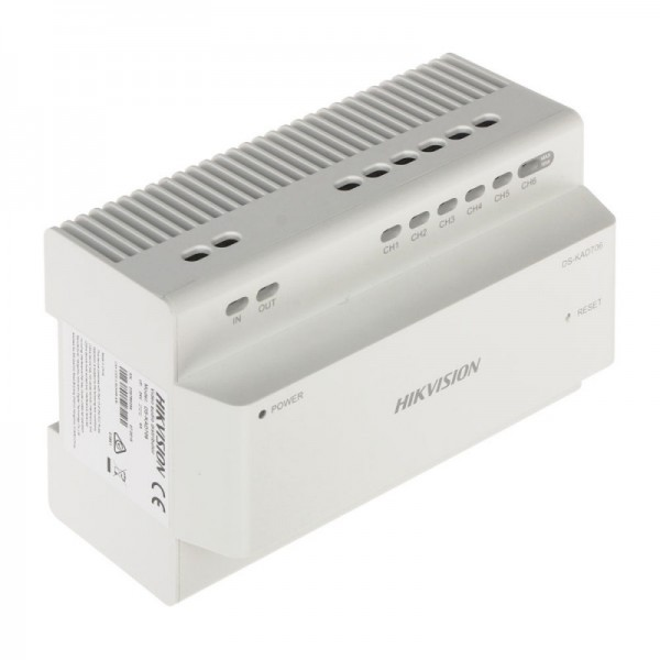 Distribuitor video/audio 2 fire Hikvision DS-KAD706-S