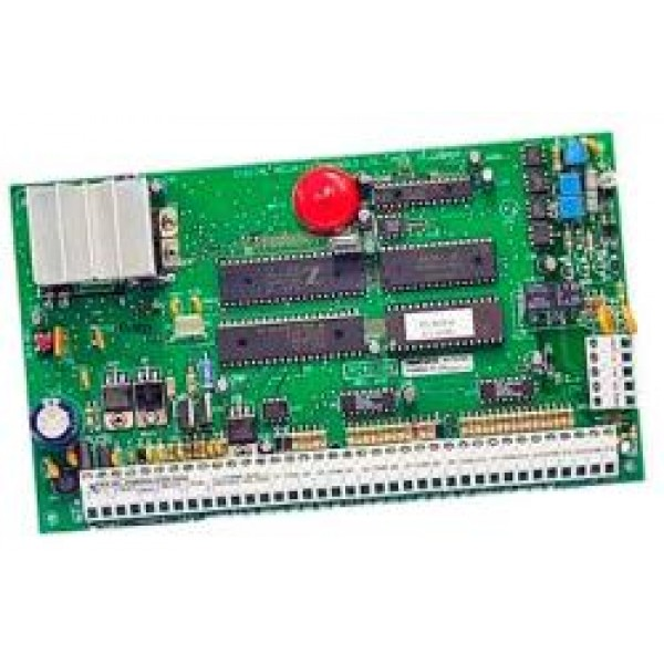 Centrala de alarma hibrida 6 zone pe placa, extensibila la 16 zone pe fir sau wireless