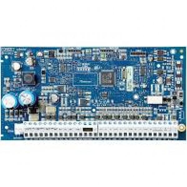 Centrala de alarma hibrida 8 zone pe placa, extensibila la 32 zone pe fir sau wireless