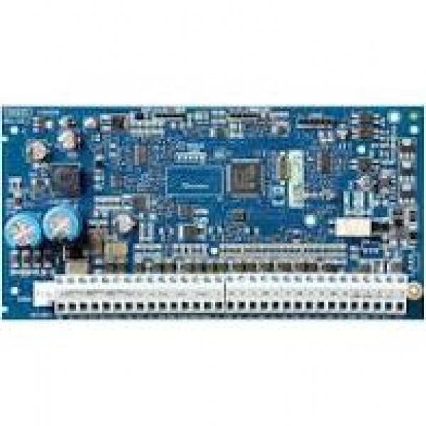 Centrala de alarma hibrida 8 zone pe placa, extensibila la 64 zone pe fir sau wireless